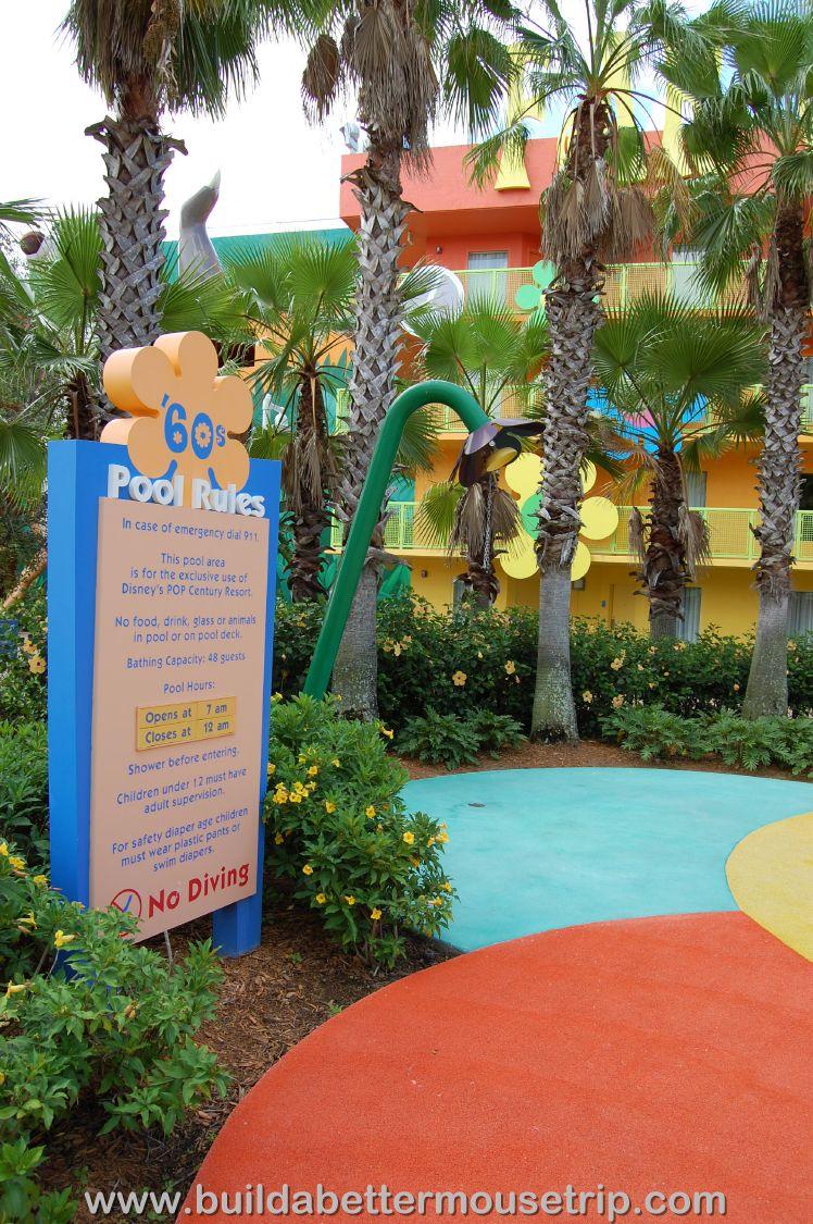 Pop Century Kids Pool Rules