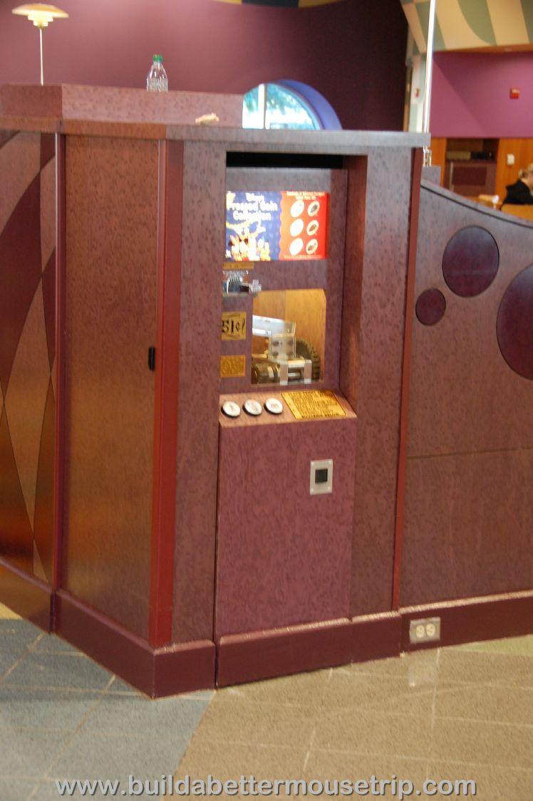 Pop Century Pressed Penny Machine