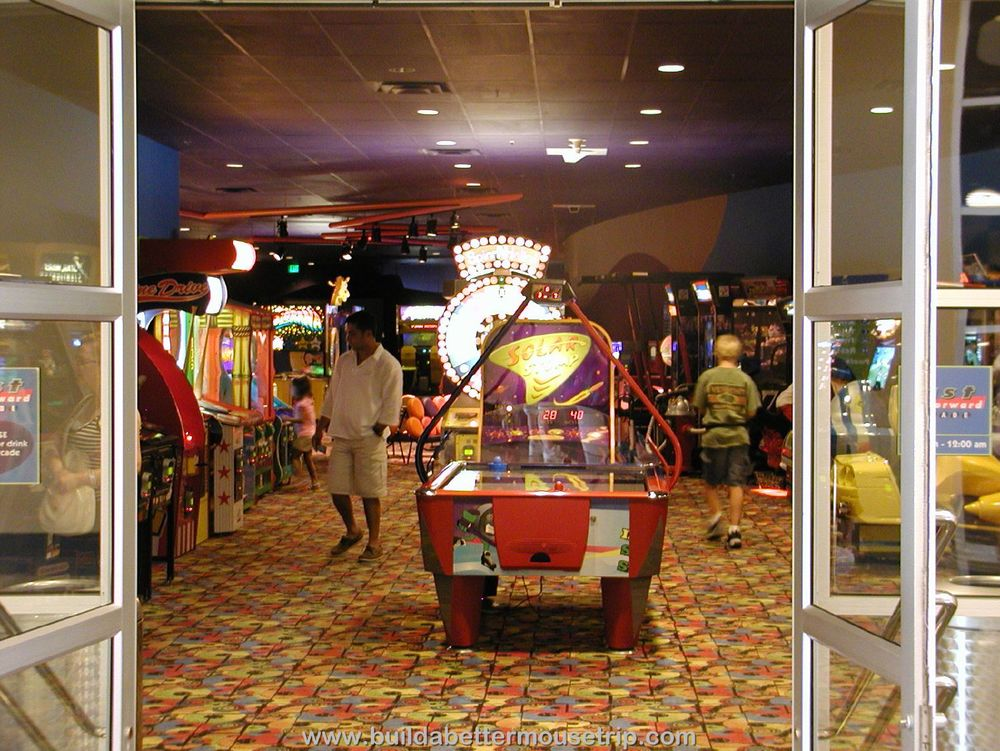 Pop Century Pixel Play Arcade