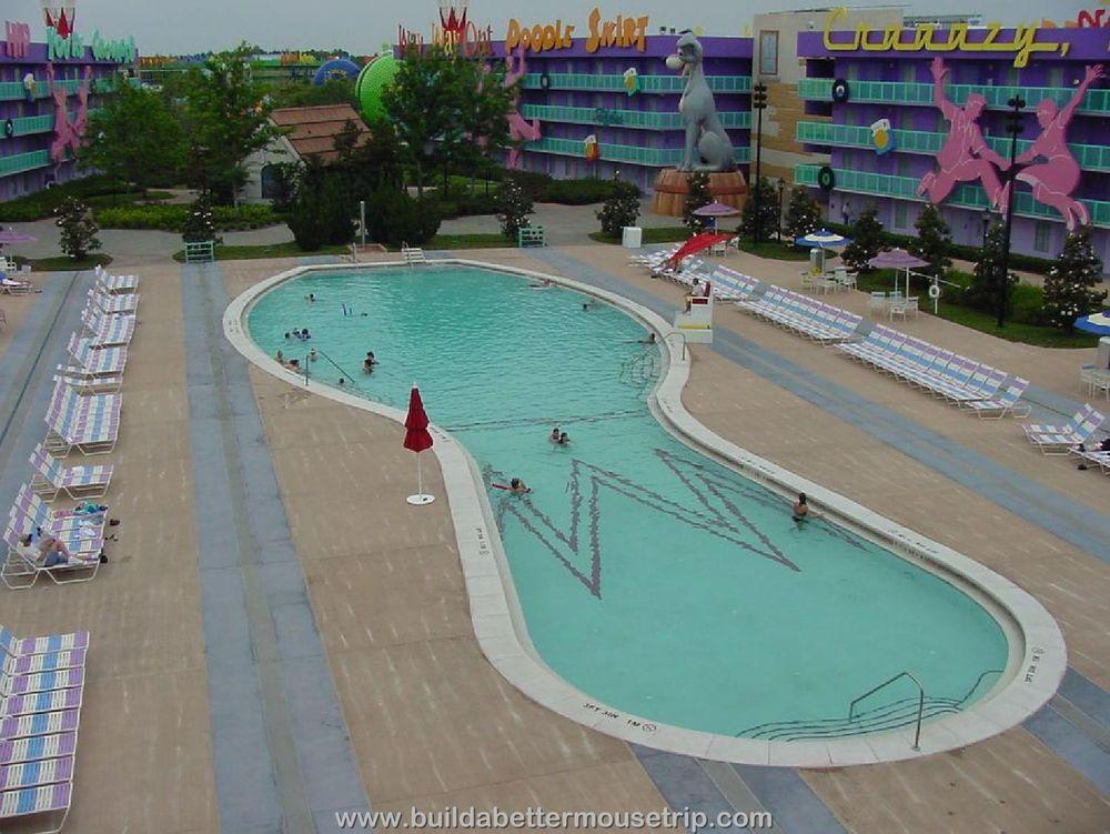 Pop Century Bowling Pin Pool