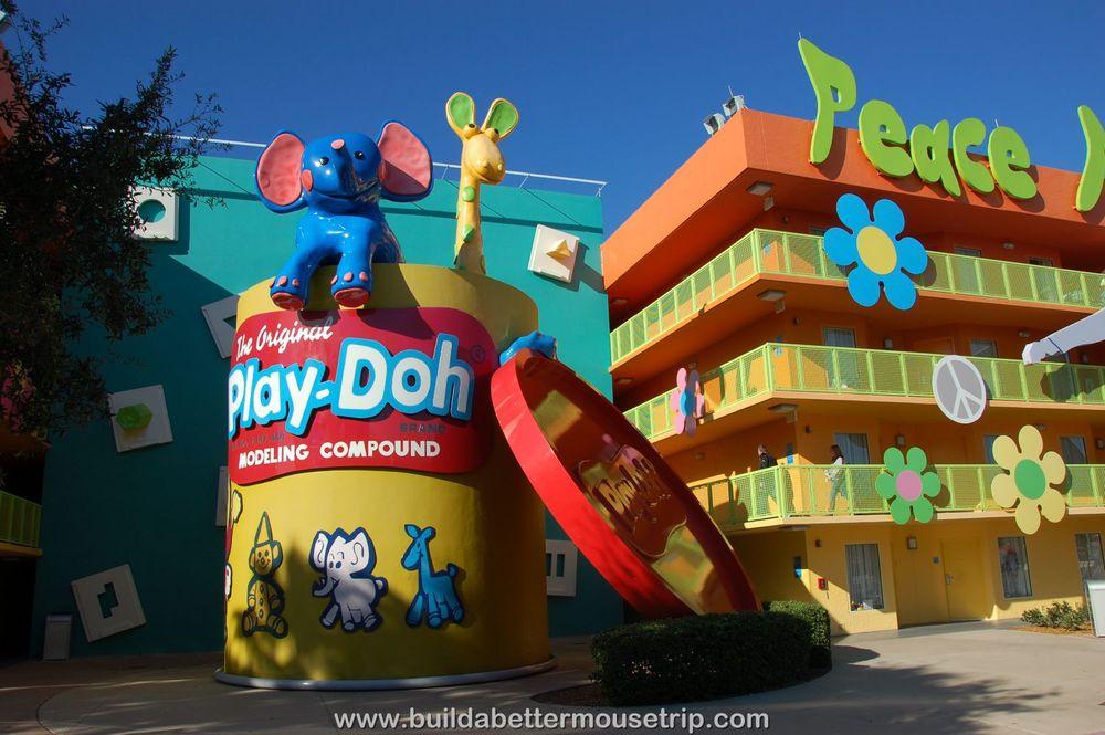 Pop Century 60's Building 4 Play Doh