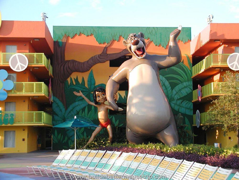 Pop Century 60's Building 5 Jungle Book