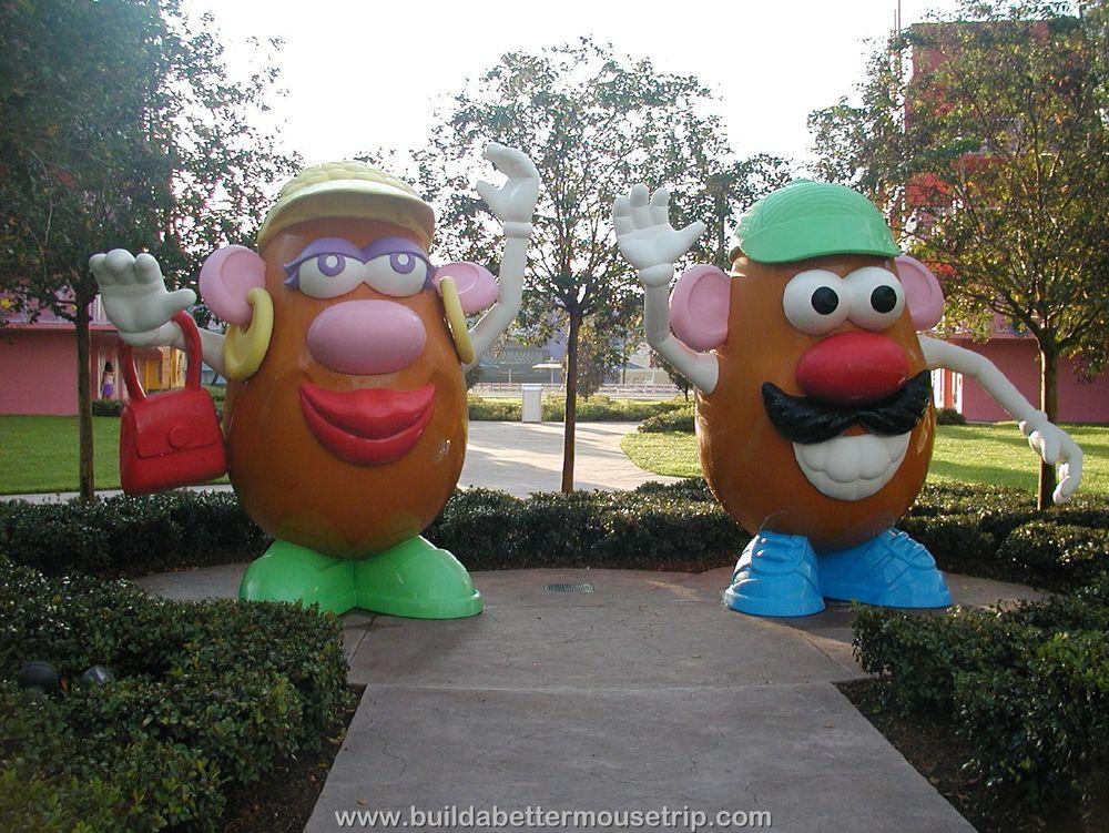Pop Century 80's Potato Heads