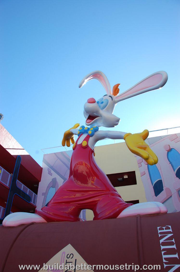 Pop Century 80's Building 7 Roger Rabbit