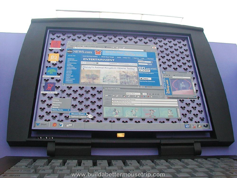 Pop Century 90's Building 8 Laptop