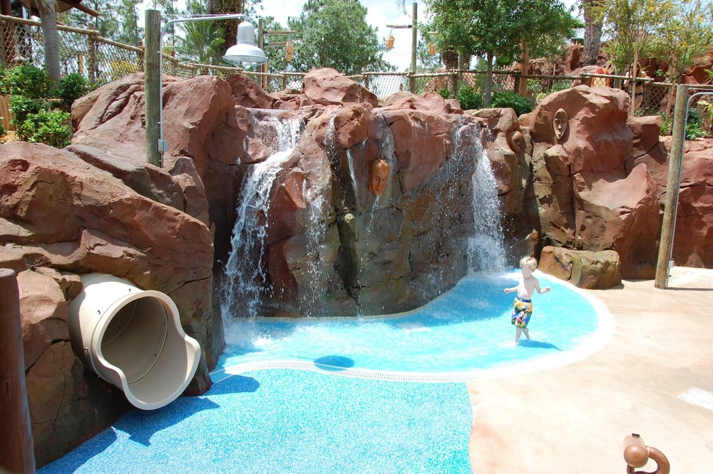 Disney's Kidani Village Samawati Springs Kids Splash Zone