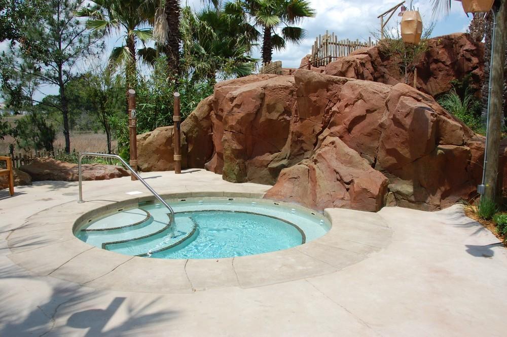 Disney's Kidani Village Samawati Springs Hot Tub
