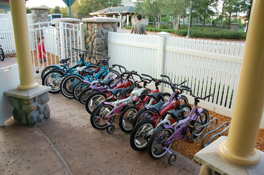 Saratoga Springs Rental Bikes