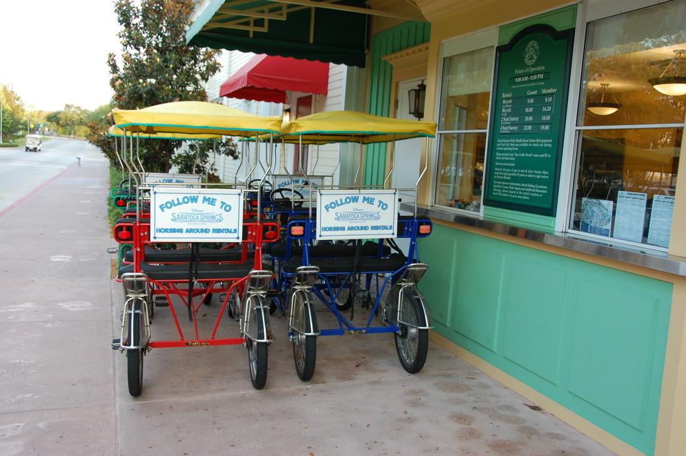 Saratoga Springs Surrey Bikes
