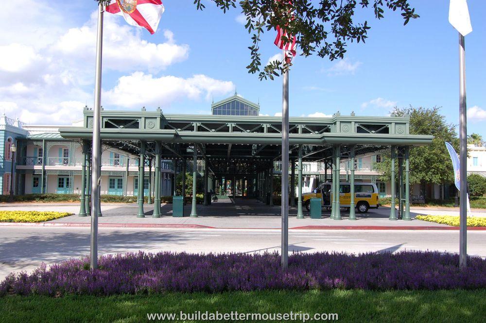 Disney's Port Orleans French Quarter Entrance