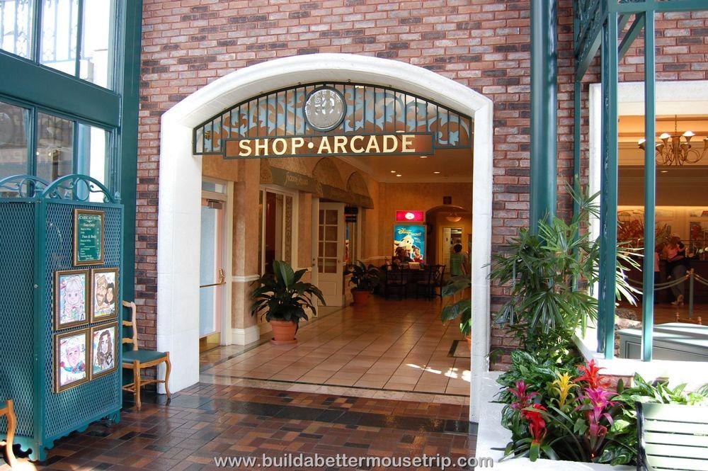 Disney's Port Orleans French Quarter Lobby