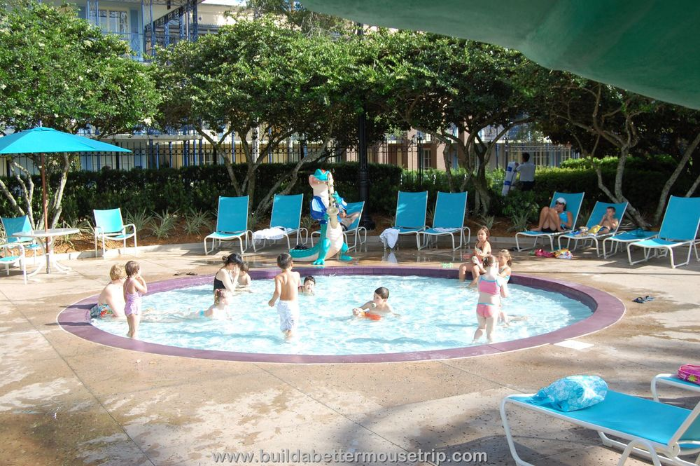 Disney's Port Orleans French Quarter Wading Pool