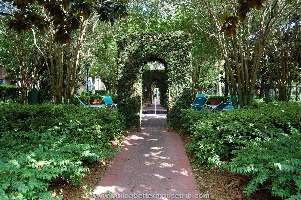 Disney's Port Orleans French Quarter Hot Tub