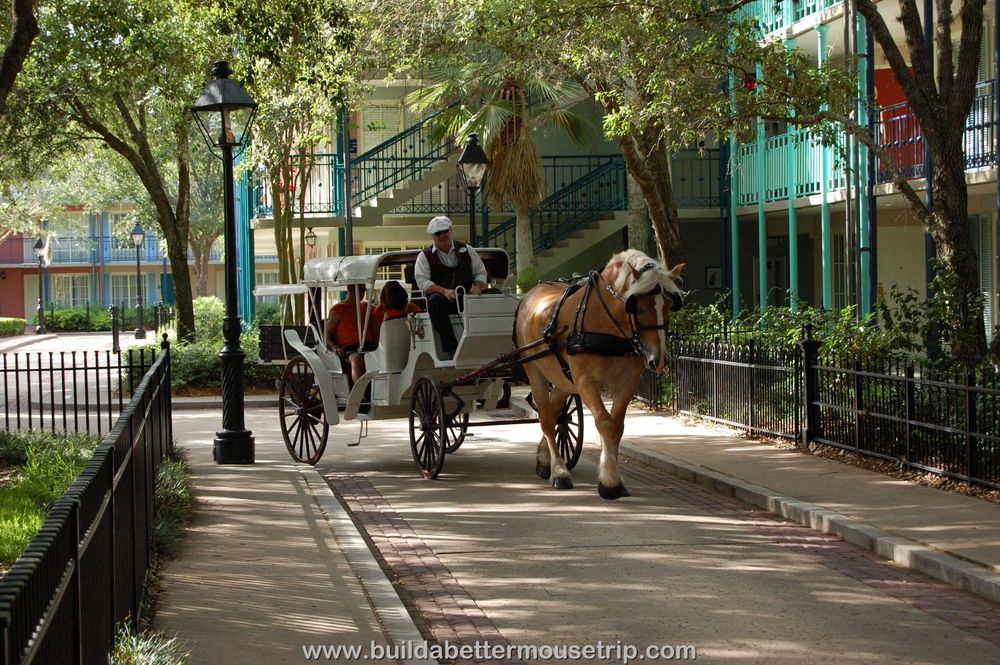 Disney's Port Orleans French Quarter Carriage Rides