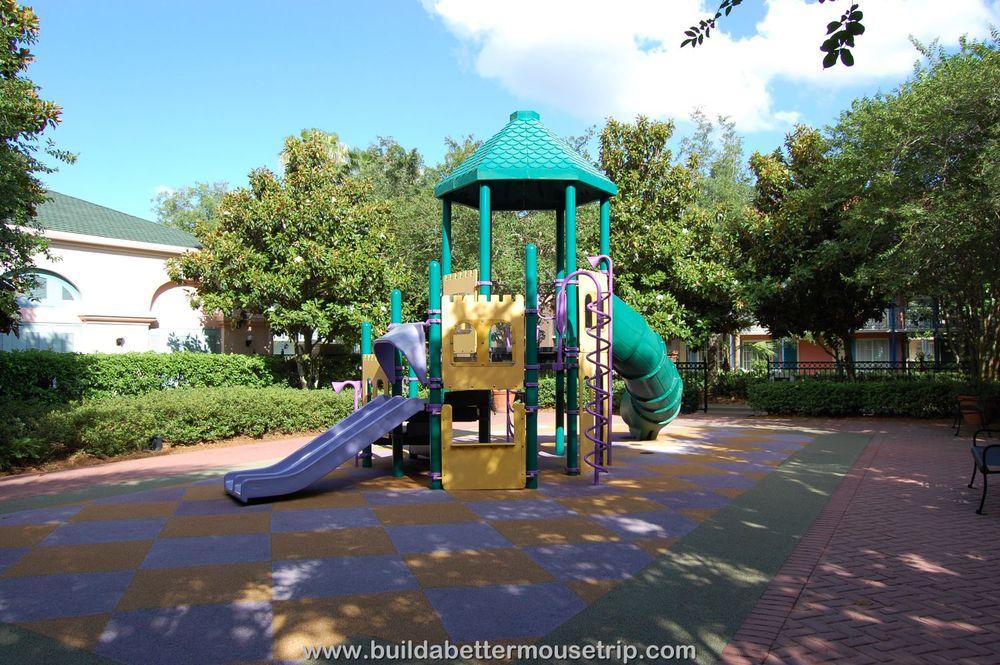 Disney's Port Orleans French Quarter Playground