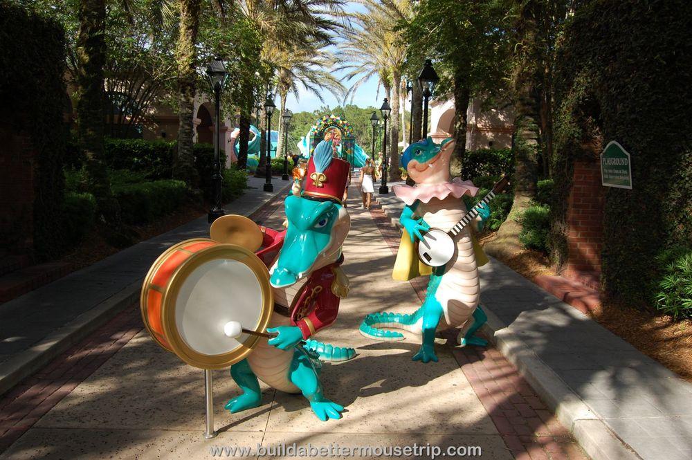 Disney's Port Orleans French Quarter Theme