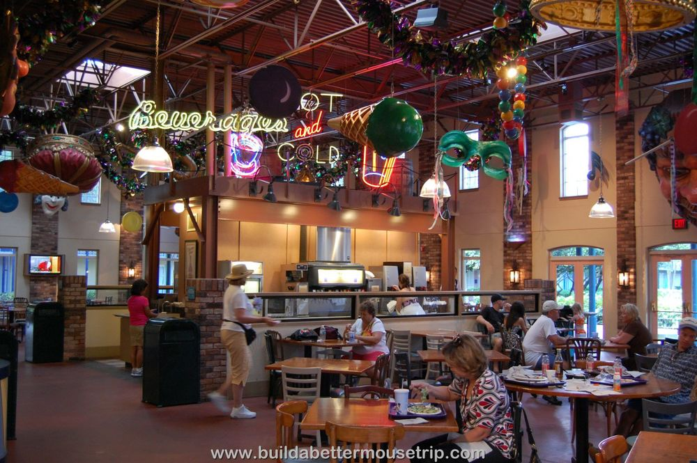 Disney's Port Orleans French Quarter Food Court