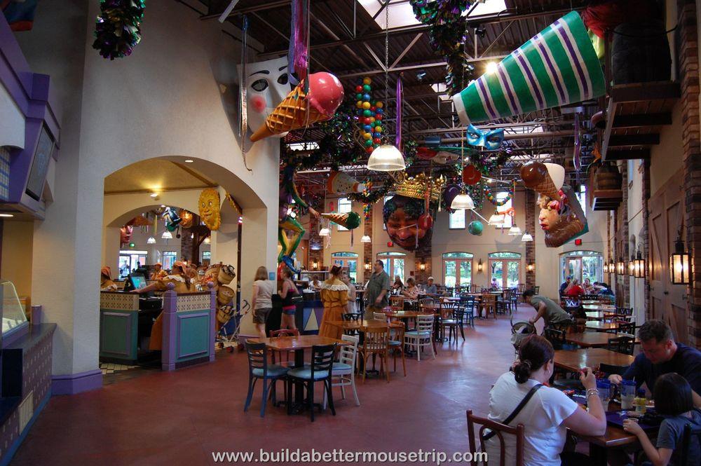 Disney's Port Orleans French Quarter Food Court