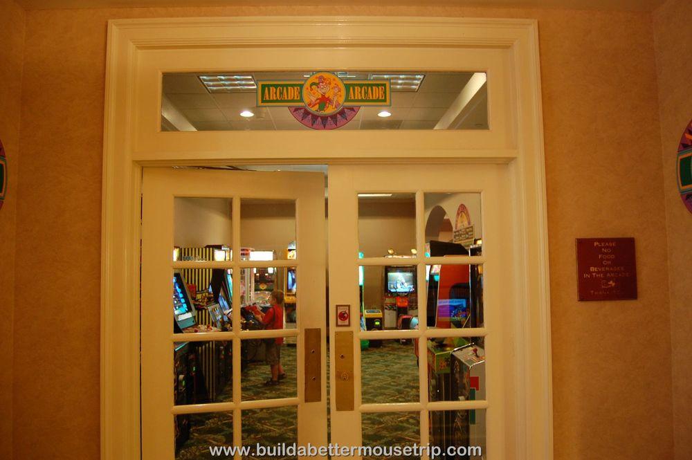 Disney's Port Orleans French Quarter South Quarter Games Arcade