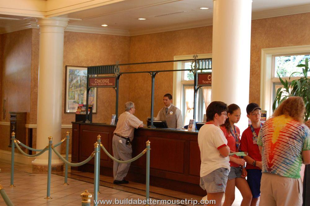 Disney's Port Orleans French Quarter Concierge