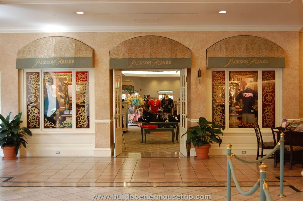 Disney's Port Orleans French Quarter Resort - Jackson Square gift shop