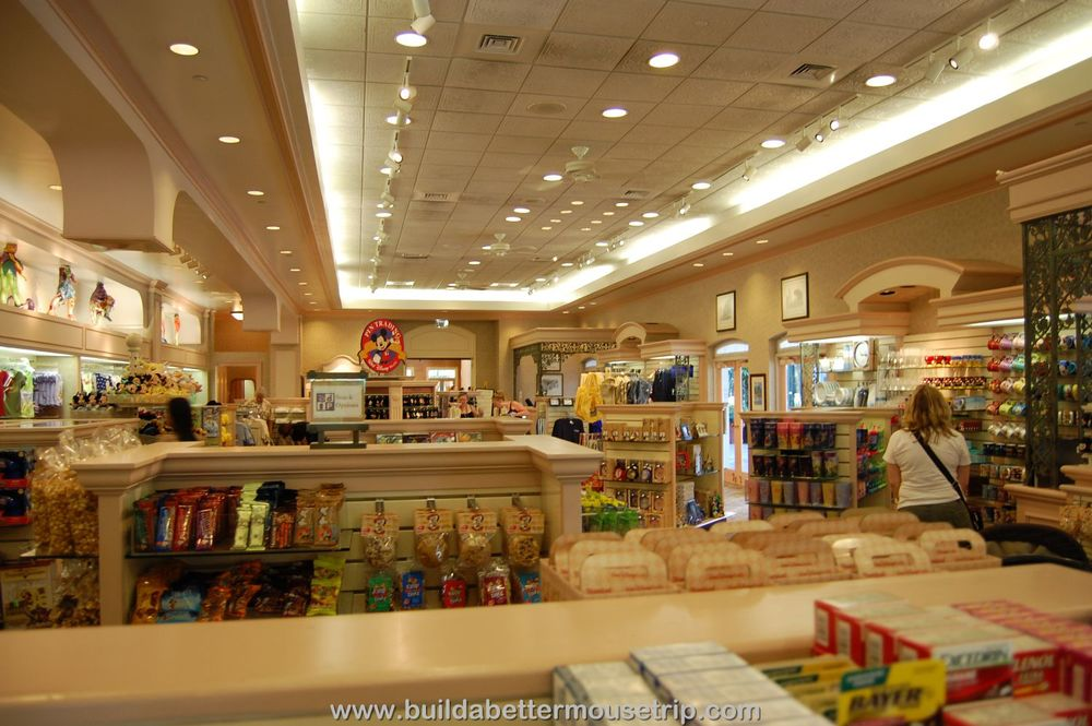 Disney's Port Orleans French Quarter Jackson Square Gifts and Sundries