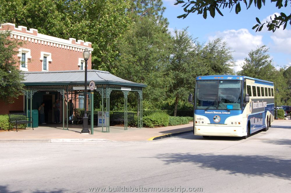 Disney's Port Orleans French Quarter DME Bus Stop