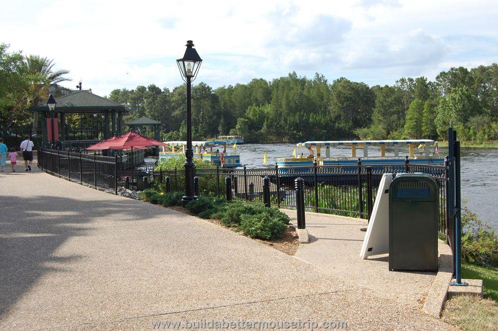 Disney's Port Orleans French Quarter Boat Transportation