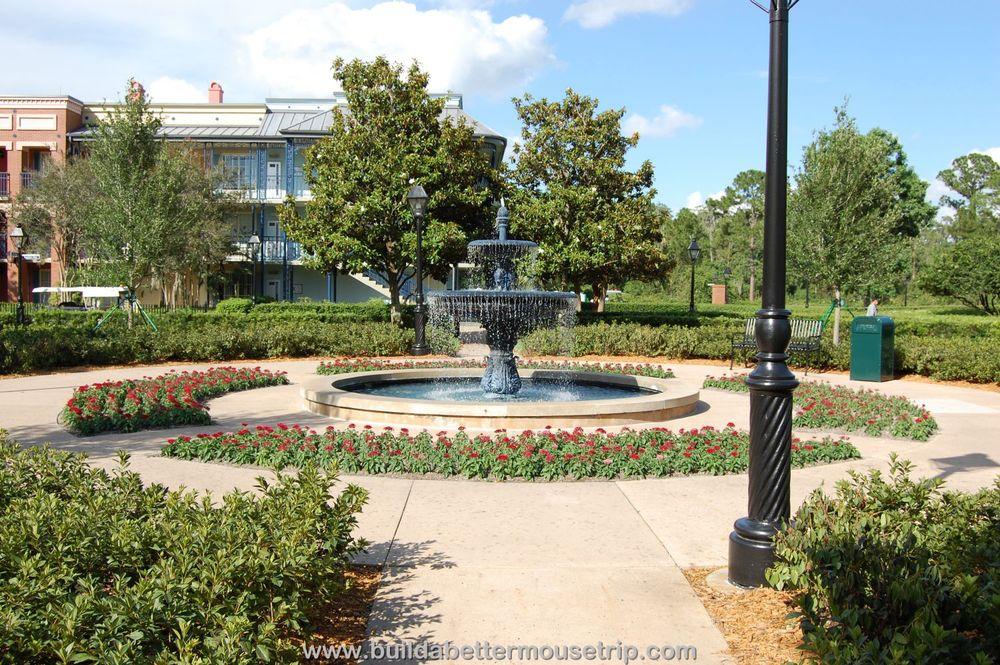 Disney's Port Orleans French Quarter Buildings