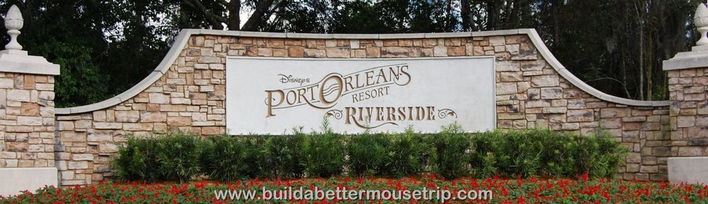 Disney's Port Orleans Riverside Resort - A Disney World Moderate Hotel.