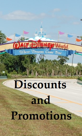 For a list of current Walt Disney World Discounts & Promotions; see: http://www.buildabettermousetrip.com/discounts-and-promotions/