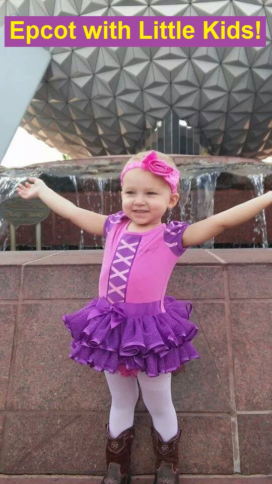 Tips and suggestions for having a great day at Epcot with young children.