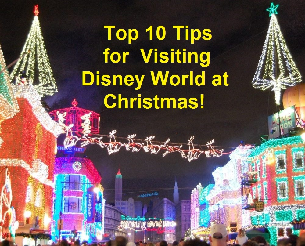 top 10 tips for disney world at christmas thanksgiving