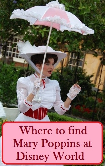 A list of places to see Mary Poppins at Disney World.  See: http://www.buildabettermousetrip.com/mary-poppins-disney-world