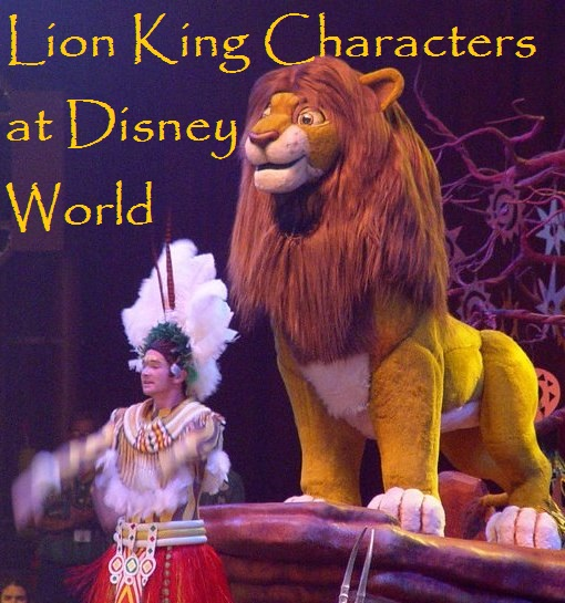 Where To Find Lion King Characters At Disney World Build A Better