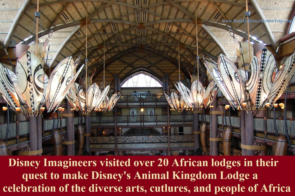 Disney's Animal Kingdom Lodge - A Beautiful Disney World Deluxe Resort for Lion King Fans.  For more information & photos, see: http://www.buildabettermousetrip.com/disneys-animal-kingdom-lodge