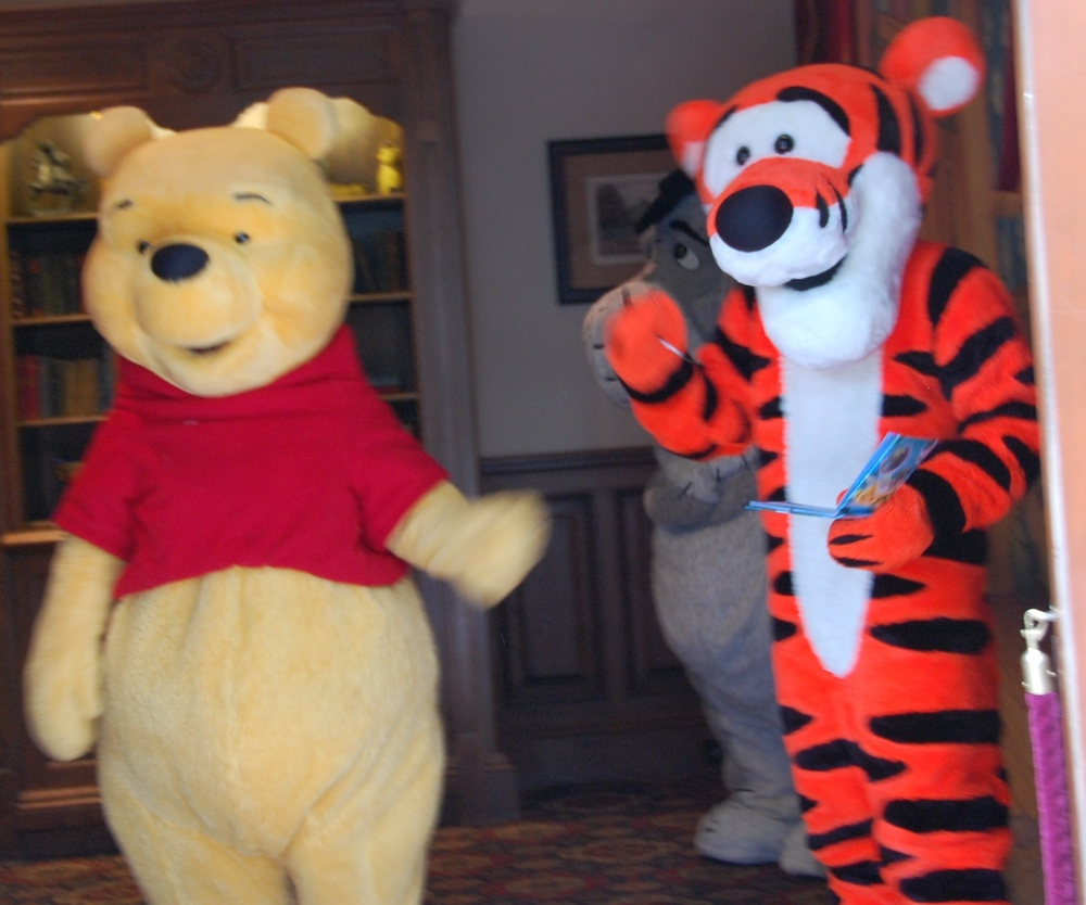 Where to Find Winnie the Pooh u0026 Friends in Epcot : pooh bear and piglet costumes  - Germanpascual.Com