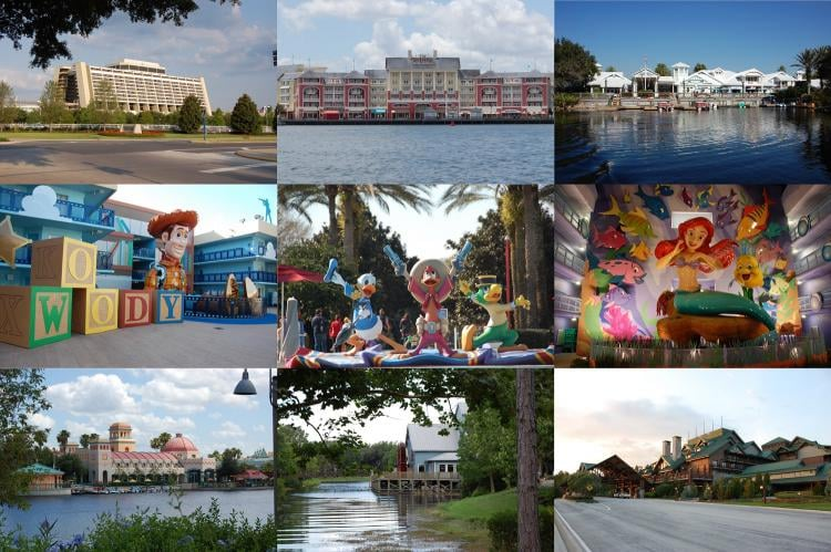Resort Hotels At Walt Disney World Build A Better Mouse Trip