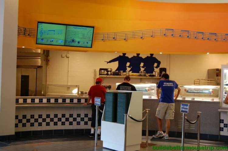Intermission Food Court at Disney's All-Star Music Resort - Photo 1