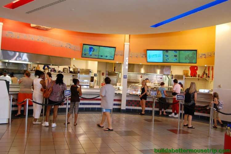 Disney's All-Star Music Resort Intermission Restaurant
