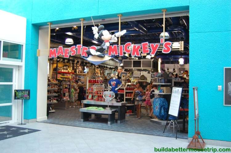 Mestro Mickey's Gift Shop at Disney's All-Star Music Resort