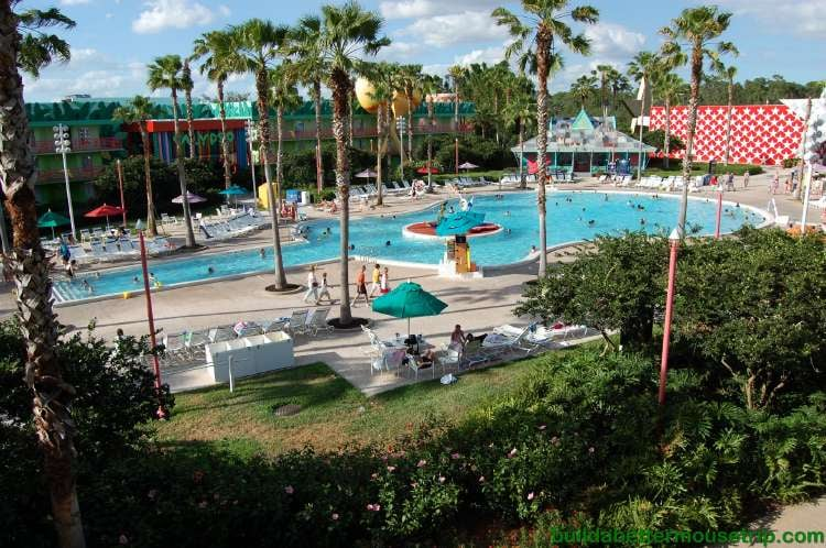 Calypso Pool featuring the Three Caballeros at Disney's All-Star Music Resort at Disney World