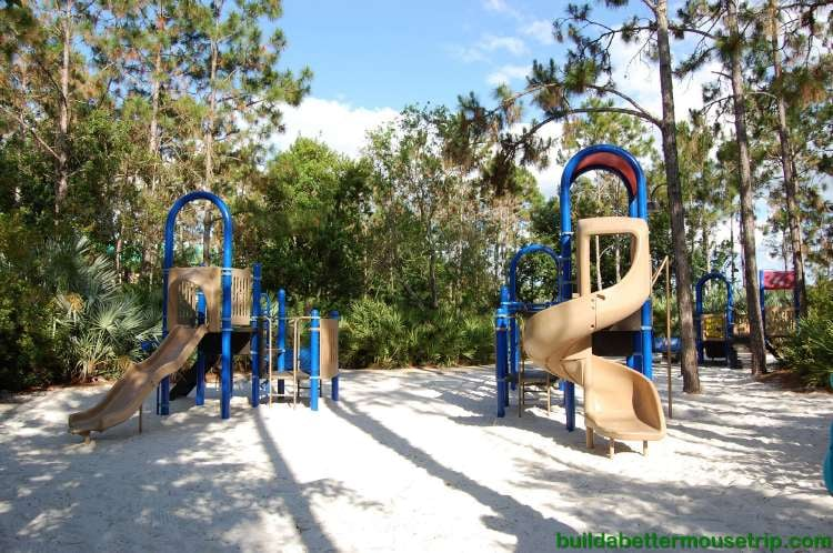 Children's playground at Disney's All-Star Music Resort