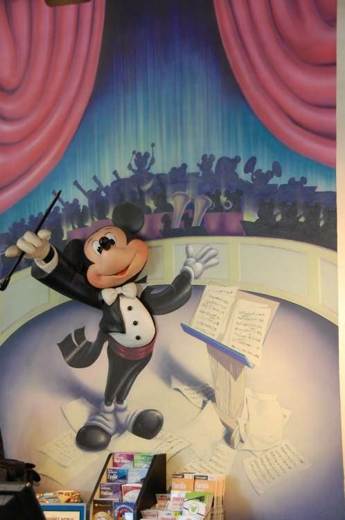 Maestro Mickey at Disney's All-Star Music