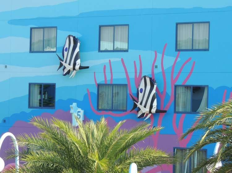 Art-of-Animation-469-Angel-Fish-on-the-buildings-at-the-Art-of-Animation-Resort.JPG