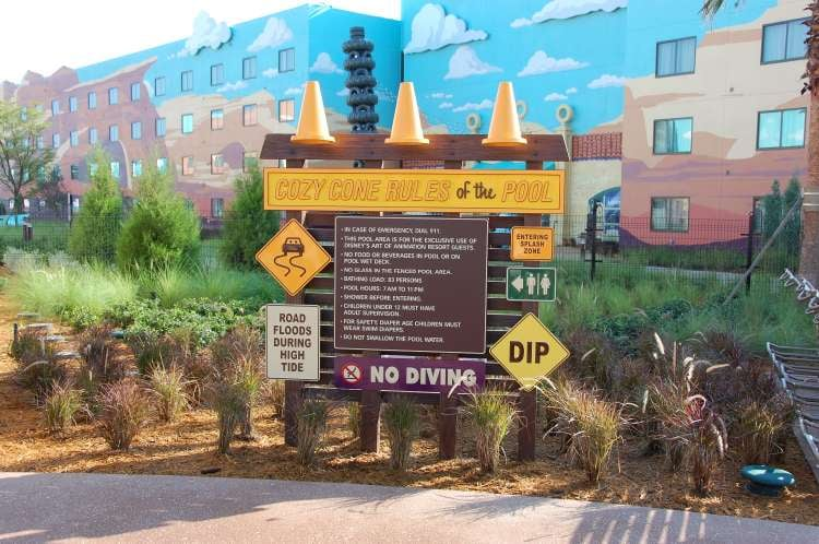 Art-of-Animation-552-Cozy-Cone-Rules-of-the-Pool-at-Art-of-Animation-Resort.JPG