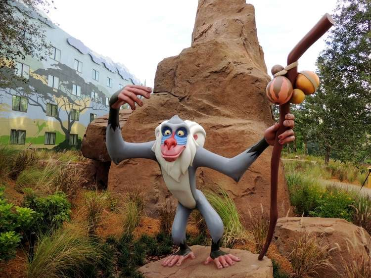 Art-of-Animation-651-Lion-King-Courtyard-Rafiki-Welcomes-You.JPG