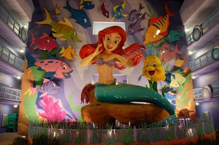 Disney's-Art-of-Animation-Ariel-at-night.JPG
