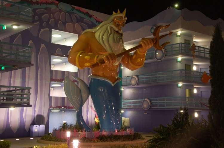 Disney's-Art-of-Animation-King-Triton-at-night.JPG