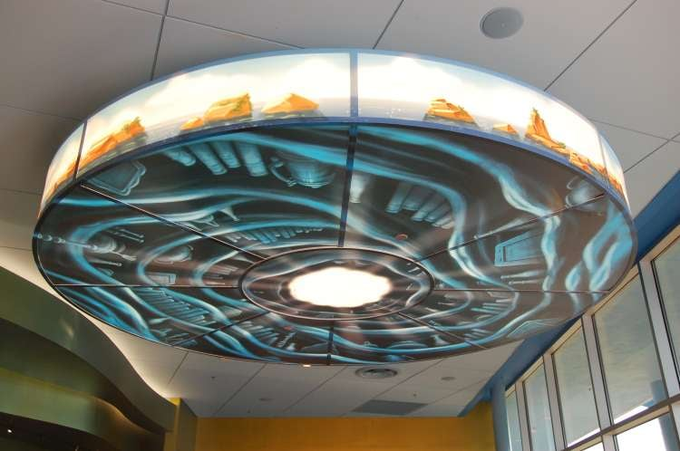 Disney's-Art-of-Animation-Little-Mermaid-Light-fixture-at-Landscape-of-flavors.JPG